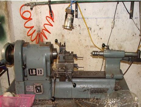 Máy gia công CNC EGURO - Cơ khí chính xác